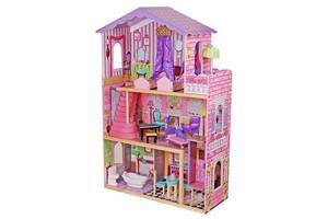 Ляльковий будиночок для барбі AVKO Вілла Магнолія з ліфтом + лялька