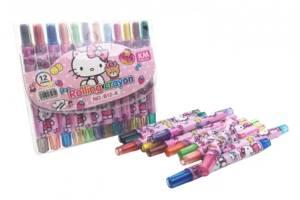 Мелки пастельные MK 4392 ( 4392-K (Hello Kitty))