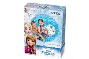 Пляжний надувний м'яч Frozen 58021, 51см