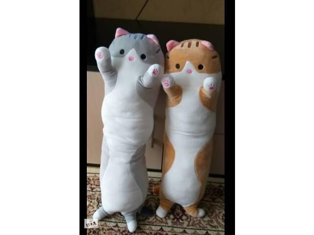 Мягкая плюшевая игрушка-подушка. Рыжий кот 50 см