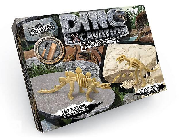 """купить бу Набор детский для проведения раскопок Danko Toys динозавры """"DINO EXCAVATION"""" (7513DT) в Киеве"""