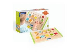 Набор для обучения сортер детский деревянный Guidecraft Manipulatives Тактильный лабиринт