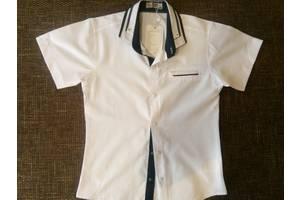 Новая школьная рубашка мальчик короткий рукав