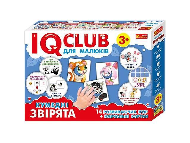 бу Обучающие пазлы для малышей Забавные зверьки на украинском языке, 24 карточки с играми в Киеве