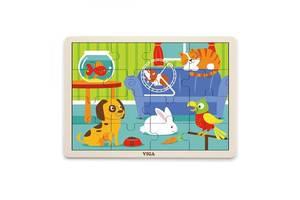 Пазл Viga Toys Домашние животные (51453)
