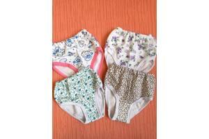 Плавки трусы детские на байке для девочек 2-5 лет хлопок.От 10шт по 6,50грн.