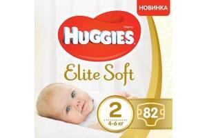 Подгузник Huggies Elite Soft 2 Mega (4-6 кг) 82 шт (5029053547985)
