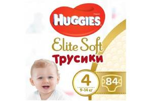 Подгузник Huggies Elite Soft Pants L размер 4 (9-14 кг) Box 84 шт (5029053547107)