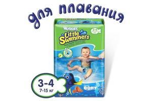 Подгузник Huggies Little Swimmer 3-4 (7-15 кг) 12 шт (36000183399)