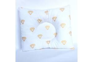 """Подушка для новонародженого коляску/ліжечко """"Брилианты"""""""
