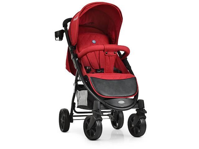 продам Прогулочная детская коляска El Camino M 3409L FAVORIT Crimson красный бу в Одессе