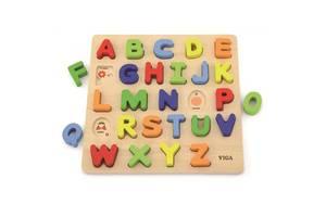 Развивающая игрушка Viga Toys Алфавит: слово на букву (50124)