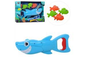 Игровой набор Рыбалка акула 33898, 4 рыбки внаборе