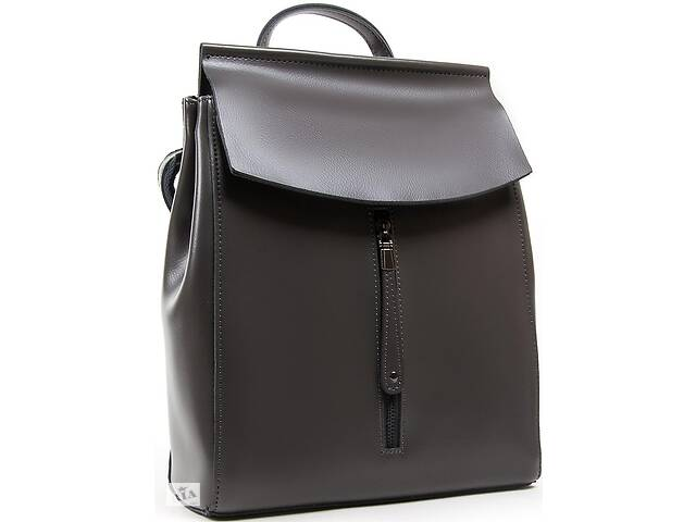 Рюкзак женский Alex Rai кожаный 9 л серый- объявление о продаже  в Киеве
