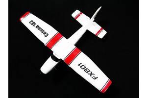 Самолет Cessna 182 (FX801) из пеноматериала 380 мм 2,4ГГц на радиоуправлении