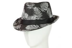 Шляпа Челентанка 12017-28 черный SKL11-249265