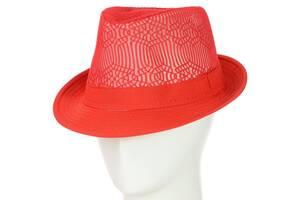 Шляпа Челентанка 12017-5 красный SKL11-249311