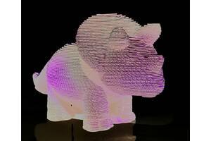 Скульптурний 3D пазл DaisySign DINI