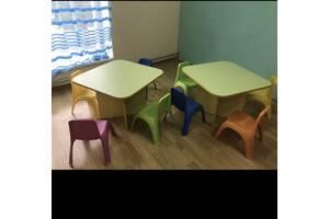 Стол та стулья детские