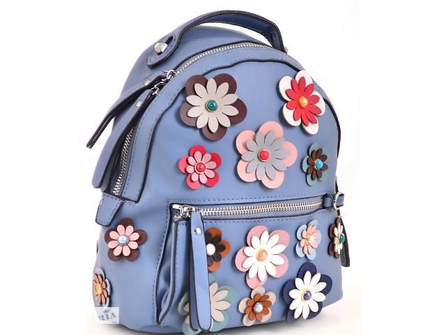 купить бу Сумка-рюкзак из эко кожи 1 ВЕРЕСНЯ, 554424 синий 5 л в Киеве