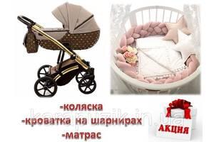 СУПЕР СКИДКА! - 1100 грн Набор для новорожденного  Коляска Tako \ Junama +  Овальная \ круглая кроватка