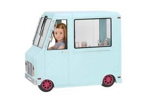 Транспорт для кукол OUR GENERATION Фургон с мороженым и аксессуарами BD37252Z