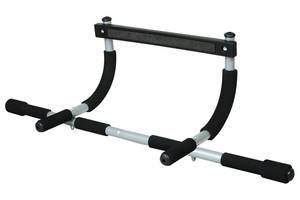 Турник тренажер Iron Gym Черно-серый (B036)