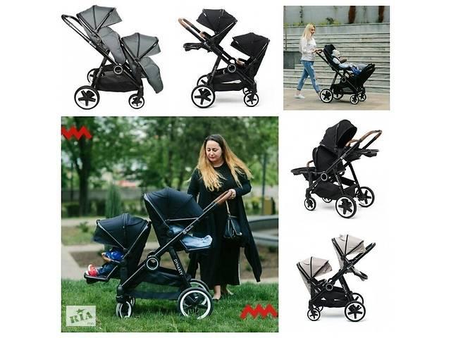 Уникальная коляска BabyZz Dynasty для двойни и погодок 2 прогулки- объявление о продаже  в Львове