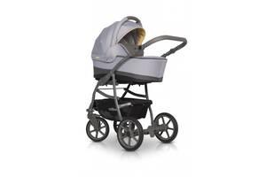 Универсальная детская коляска 2 в 1 Colibro Focus, серый/желтый (10058)