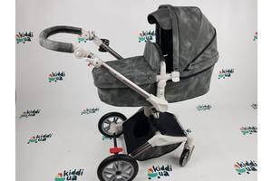 Универсальная коляска 2в1 Hot Mom 2020 графит 360 градусов