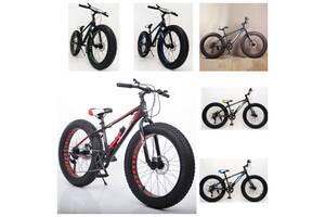 Велосипед Фетбайк S800 HAMMER EXTRIME 24''х4,0. Алюминиевая рама 14''