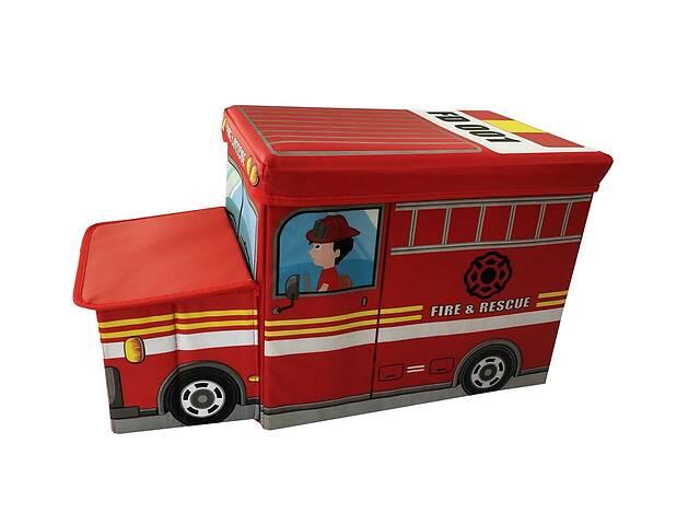 бу Ящик-пуф для игрушек Baby Comfort Пожарная машина в Одессе