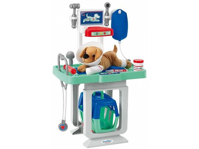 купить бу Игровой набор Ecoiffier Ветеринарный центр со столом и переноской для щенка (001908) в Киеве