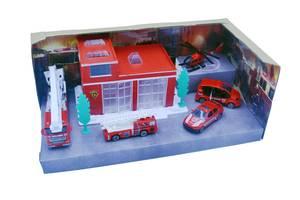 Игровой набор пожарная станция ZZ (95599-31)
