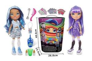Игровой набор с куклой Аналог Poopsie Rainbow Surprise 298-1 с аксессуарами (2 вида)