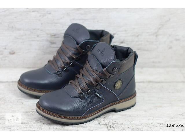 продам Зимние кожаные подростковые ботинки Zangak 125 бу в Киеве