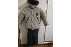 Зимові теплі куртки для хлопчика - від народження і до 6 років.