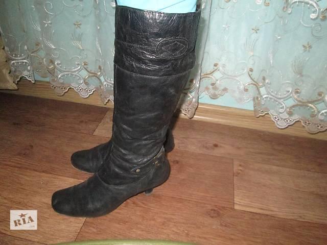бу сапоги осенние кожаные в Ивано-Франковске
