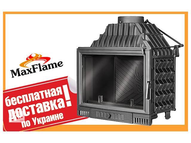 купить бу Чавунна камінна топка KAW MET W1 18 кВт +Безкоштовна доставка! в Львові