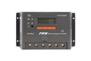 Контроллер, ШИМ 45А 12/24/36/48В  с дисплеем VS4548BN EPsolar (EPEVER)