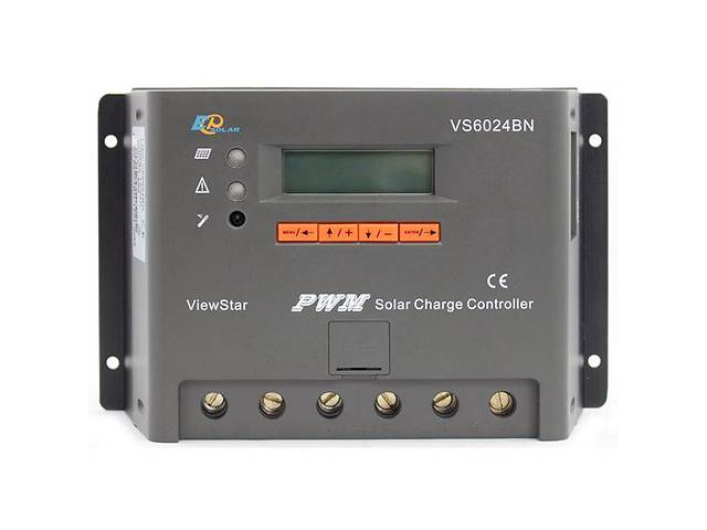 продам Контроллер, ШИМ 60А 12/24В  с дисплеем VS6024BN EPsolar (EPEVER) бу в Львове