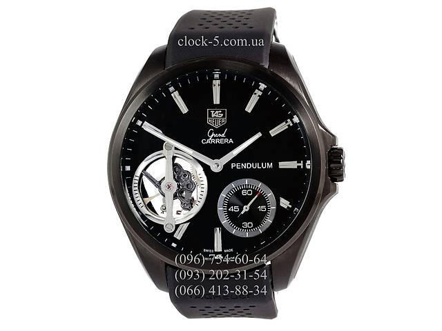 продам Часы мужские наручные TAG Heuer Carrera 1887 SpaceX Mechanic Gold/Black-Orange бу в Дубно