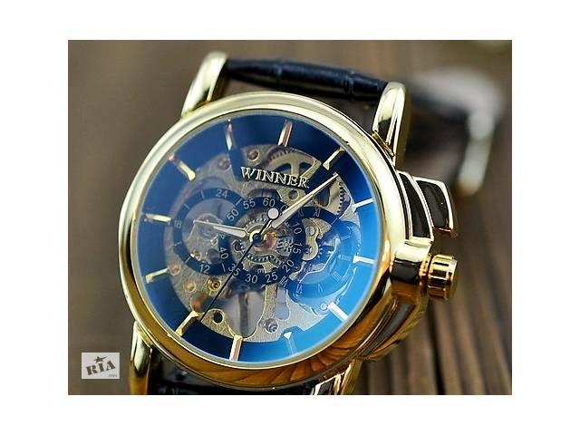 Годинники наручні чоловічі WINNER Gold Skeleton mod065 - Годинники в ... 240a42685983d