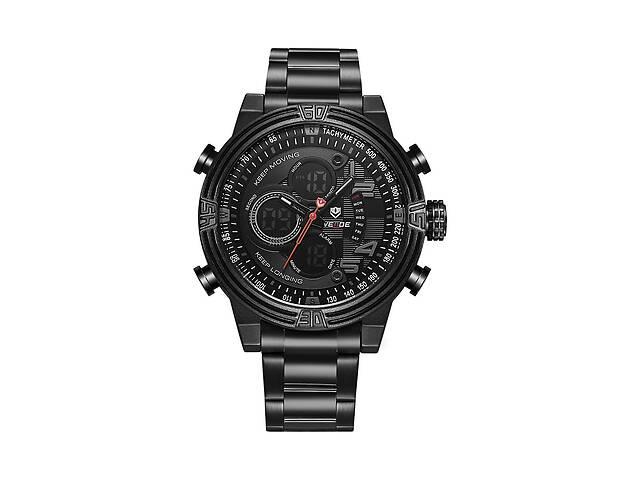 бу Часы Weide Black WH5209B-1C SS (WH5209B-1C) в Киеве