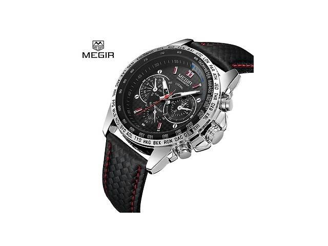 бу Megir Чоловічі годинники найкращий бренд класу люкс кварцові годинники  Для чоловіків модні в Лисичанську d7f72179b06bb