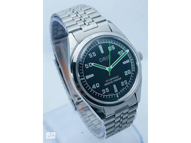 a61fbba1a12c бу Мужские механические винтажные часы Oris швейцарские 80s.02 38 мм в Киеве