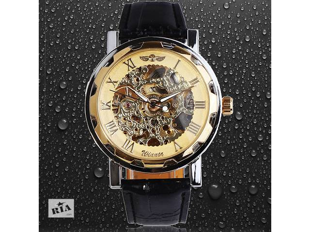 бу Сучасні чоловічі годинники Skeleton Winner з автопідзаводом в Києві 1c2ce45fc9bf5