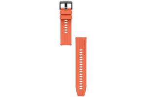 Ремешок Huawei Watch GT 2 Strap Orange Fluoroelastomer
