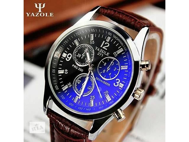Тренд 2017! Чоловічі кварцові наручні годинники Yazole 271 ... c3b399e29ae16