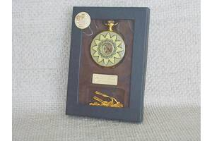 №521 Часы карманные механические в футляре с цепочкой рабочие хорошее состояние Германия